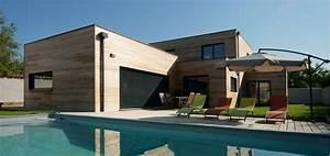 Maison Bois Contemporaine : 5 raisons de construire une maison en bois habitatpresto ~ Preciouscoupons.com Idées de Décoration
