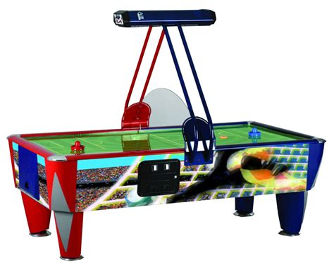 air hockey and football table sam fast soccer commercial air hockey table 7 ft 8 ft
