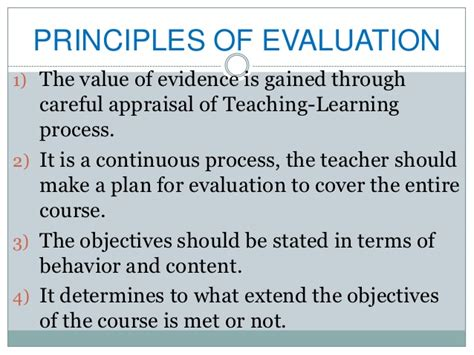 Evaluation In Nursing Education