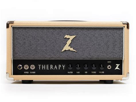 dr amps amp therapy guitar head introduces blonde 35w drzamps