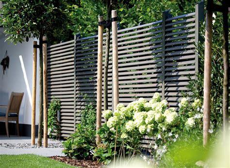 Grüner Sichtschutz Garten by Sichtschutz Im Garten Holz Vom Fach