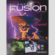 Isbn 9780547365770  Holt Mcdougal Science Fusion Florida  Student Edition Interactive Worktext