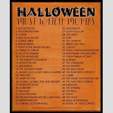 Halloween Must Watch Movies Pictures, Photos, And Images For Facebook, Tumblr, Pinterest, And