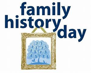 Family History Day: Share the Story of a Lifetime [10/03/15]