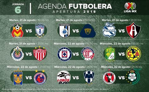 Fechas, horarios y dónde ver la jornada 6 de la Liga MX