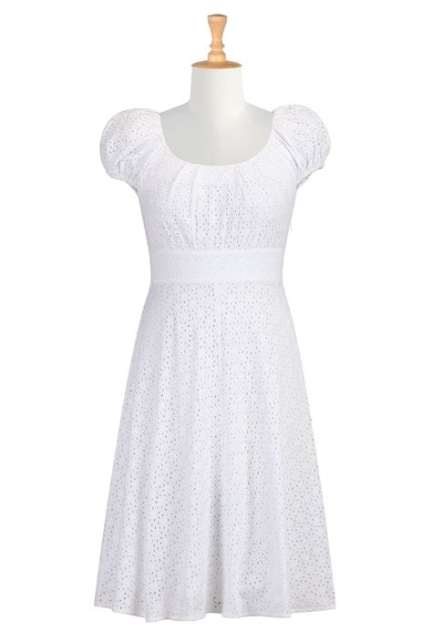 eyelet dress picture collection dressed  girl