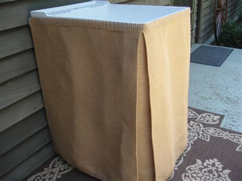 Burlap Utility Sink Skirt by 301 Moved Permanently