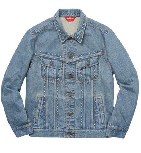 authentic supreme clothing authentic supreme denim trucker jacket vintage clothing
