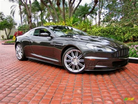 quantum silver  aston martin dbs coupe exterior photo