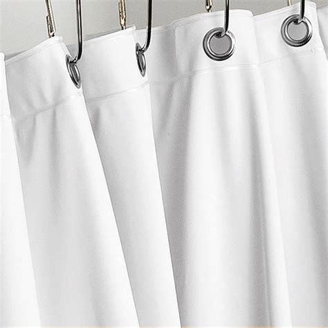 vinyl shower curtain liner with weights and suction cups
