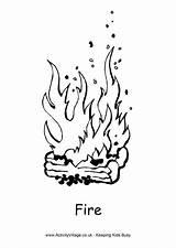 Fire Colouring Pages Activityvillage Activity Village Explore sketch template