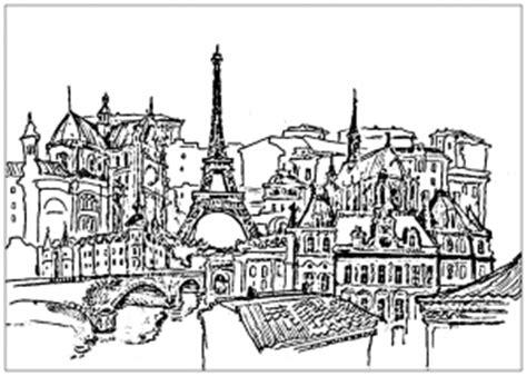 paris coloring pages  adults