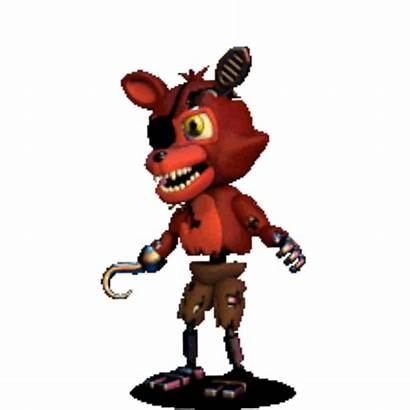 Fnaf Foxy Transparent Clipart Freddy Nights Five