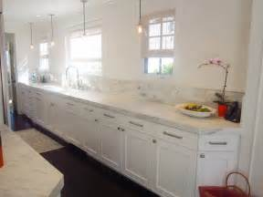 white kitchen cabinet hardware ideas cococozy cococozy exclusive a chic galley kitchen