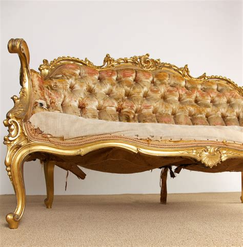 Rococo Settee by Rococo Louis Xv Settee Fritz