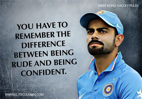 virat kohli success rules  elitecolumn