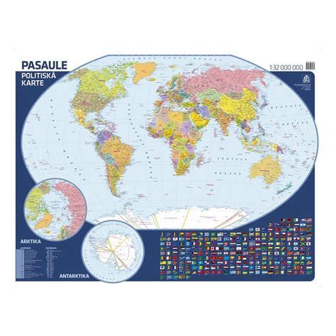 Pasaules fizioģeogrāfiskā sienas karte, Jāņa Sēta - Biroja ...