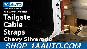 How To Install Replace Tailgate Cable Straps 2007
