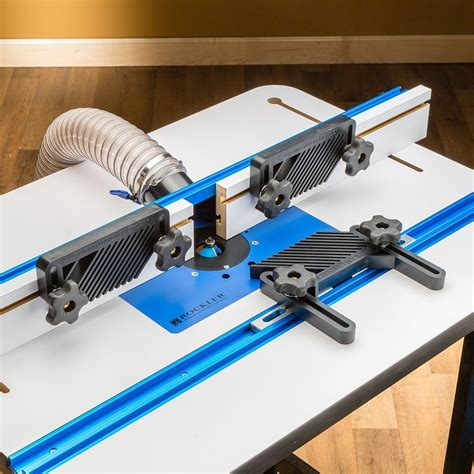 rockler  piece router table accessory kit woodworking