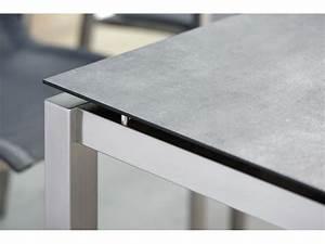 Tischplatte 140 X 80 : stern tischsystem edelstahl tischgestell 80 x 80 cm freiw hlbare tischplatte gartenm bel ~ Bigdaddyawards.com Haus und Dekorationen