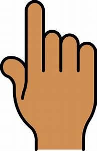 Pointer Finger Clip Art at Clker.com - vector clip art ...