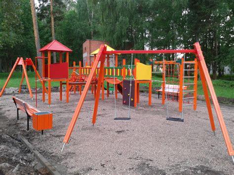 Ķemeri | Izveidots bērnu rotaļu laukums