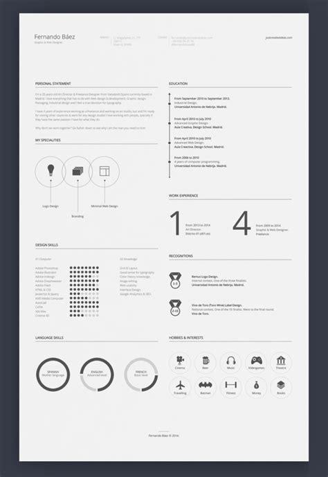 Adobe Illustrator Resume Template by 7 Free Editable Minimalist Resume Cv In Adobe Illustrator