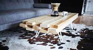Diy deco fabriquer une table basse trendy pour le salon for Deco cuisine pour table basse design