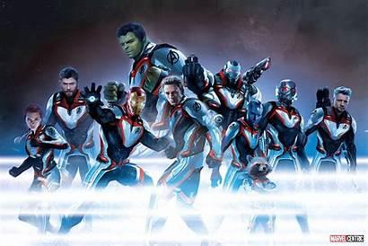 Avengers Endgame Travel Suit Tablet Costume Wallpapers