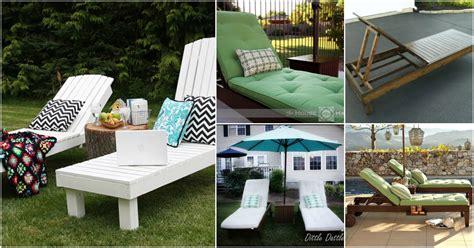 elegant sunbathing loungers   diy  plans