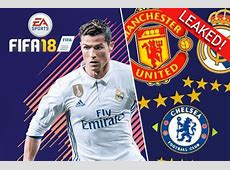 Manchester United, Man City and Chelsea FIFA 18 Ratings