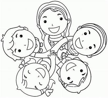Friends Coloring Pages Printables