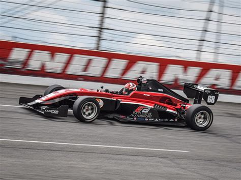 road indy drivers tackle lor test speed sport