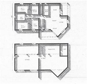 plan maison sur sous sol plns mison vends maison ig 235 With plan maison demi sous sol