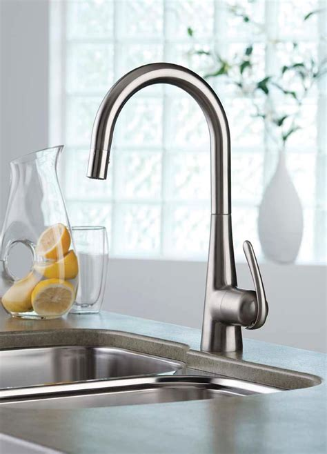 grohe concetto kitchen faucet stainless steel grohe 32226sd0 ladylux pro new sink stainless steel