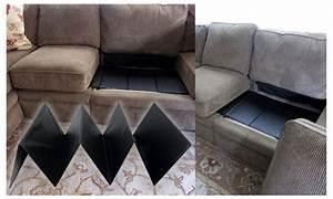 Sagging sofa cushion support sagging sofa seat repair mjob for Sagging sofa bed cushion support