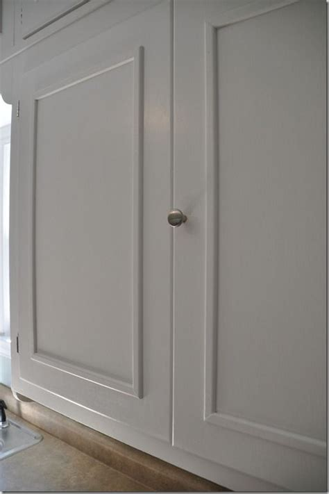 how to add trim to cabinet doors moldings cabinet molding and cabinets on pinterest