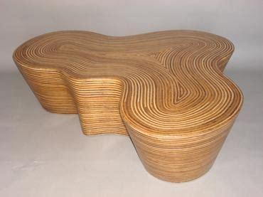 600 x 600 jpeg 62 кб. Organic Striped Wood Coffee Table - Mecox Gardens