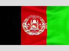 Flag Of Afghanistan Royaltyfree video and stock footage