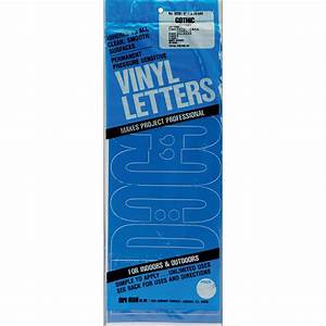 duro permanent adhesive vinyl letters 6inch 125224 With permanent vinyl lettering michaels