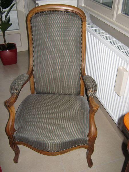 rare fauteuil ancien voltaire clasf