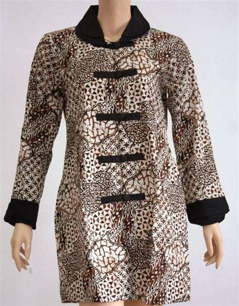 model baju batik wanita blouse batik etnik