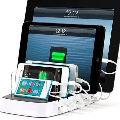 electronic charging station charging station for apple electronics ohhh yeah this would work in our family tech