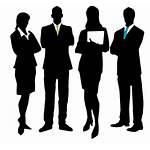 Silhouette Transparent Manager Career Clipart Test Pendidikan