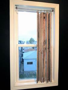 Hometalk DIY Pallet Wood Vertical Blinds
