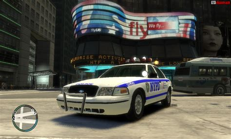 nypd equipment section ford crown nypd highway patrol gta iv