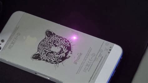 Iphone Imei Laser Engraving, Mopa Color Laser Engraving