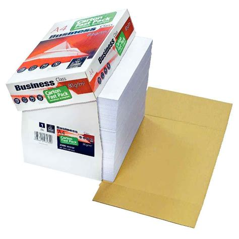 bureau en gros agenda fast pack de 2500 feuilles business papier blanc a4 80g