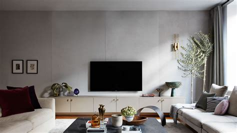 fake  concrete wall architectural digest