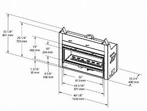 Pacific Energy Esprit Linear Gas Fireplace Installation Specs